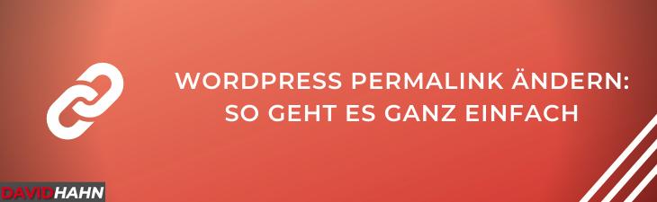 Wordpress Permalink ändern