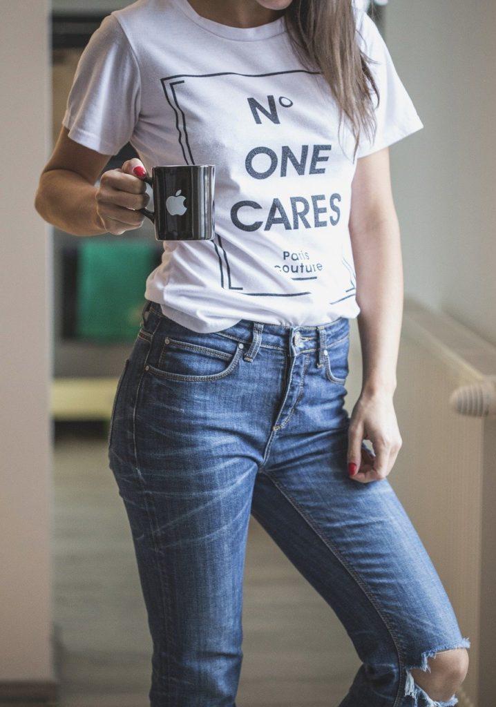 T-Shirts verkaufen im Internet: ein einzigartiges - aber auch manchmal simples Design sorgt für einen Bestseller.