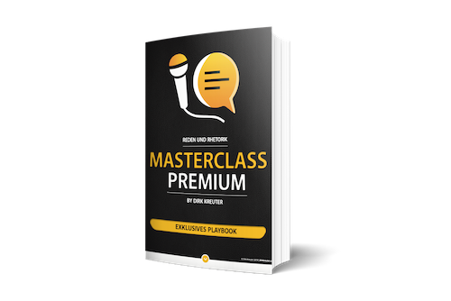 Reden und Rhetorik Masterclass - Playbook